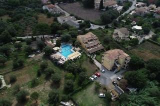 facilities corfu spiti nikos aerial
