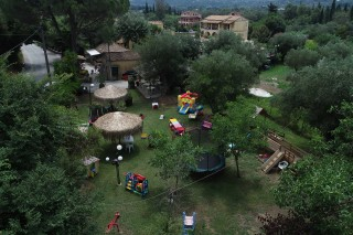facilities corfu spiti nikos playground area