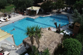 facilities corfu spiti nikos swimming pool