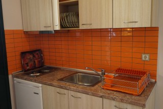 two bedroom apartment spiti nikos big kitchen